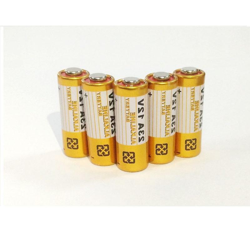 GTF 5pcs Alkaline battery 12V 23A 27A 21/23 A23 E23A MN21 garage door remote control For RC