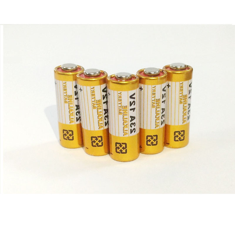 GTF 5pcs Alkaline battery 12V 23A battery 12V 27A 23A 12V 21/23 A23 E23A MN21 garage door remote control battery For RC control