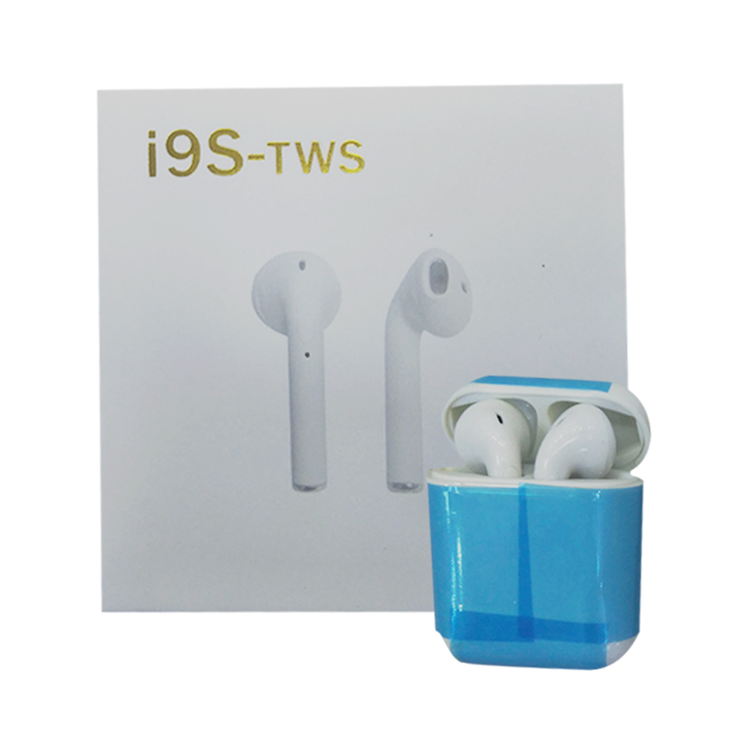 2018 new i9s-TWS real mini stealth wireless stereo Bluetooth earphones headset waterproof hands-free sports with microphone