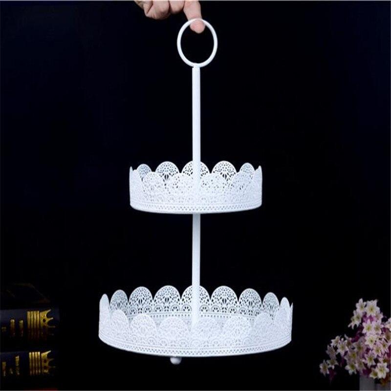 Carrousel gâteau Stand blanc créatif Branches formes Snack Stand mariage anniversaire exposition fête gâteau décoration gâteau Shope