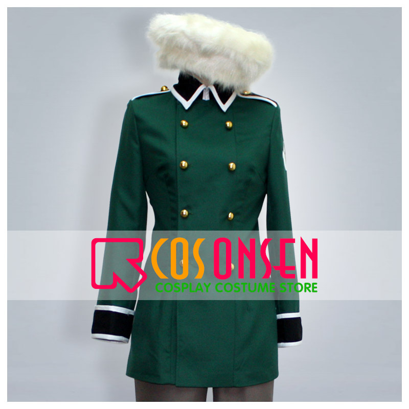 COSPLAYONSEN APH Axis Powers Hetalia Suisse Cosplay Costume All Size