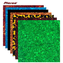 24cmx22cm Quality Acoustic Guitar Pickguard Celluloid Material Blank Sheet Self Adhesive Scratch Plate Various Colors Available недорого
