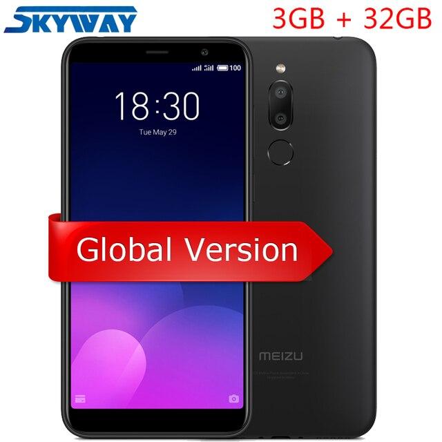 Ban đầu Meizu M6T 6 T 4G LTE Di 3 GB 32 GB MTK6750 Octa Core 5.7 inch HD full Màn Hình Kép Phía Sau Vân Tay GPS