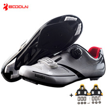Free Lock Accessories 2018 New Pro Men's Cycling Shoes Road Bike Lock Sneakers Zapatillas Hombre Deportiva Bicycle Equipment