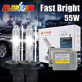 H7 xenon kit 0.1 Second Fast Bright F5 55w  HID kit H1 H3 H4 H11 9005 HB3 9006 HB4 D2S H27 881 4300k 5000k 6000k 8000k 10000k