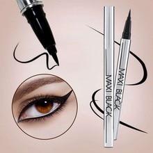 2017 Black Eye Liner Pencil Makeup Kosmetika Maquiagem Vattentät Skönhetsvätska Eyeliner Pen
