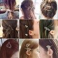De moda pasador de pelo, horquillas pelo Clips accesorios para las mujeres las niñas Hairgrip pelo pinza del pelo adornos sombreros al por mayor