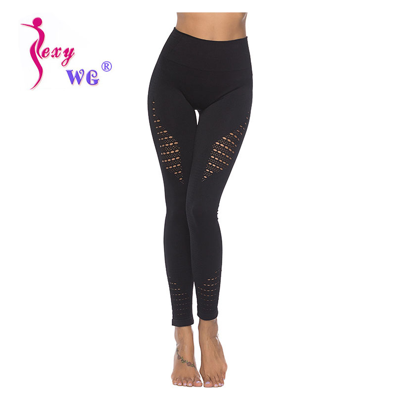 Sexywg New Women Yoga Pants Sportswear Stretchy Fitness Leggings Gym Elastic Pants Sports Running Hip Lift Up Quick Dry Fitness Fine Quality