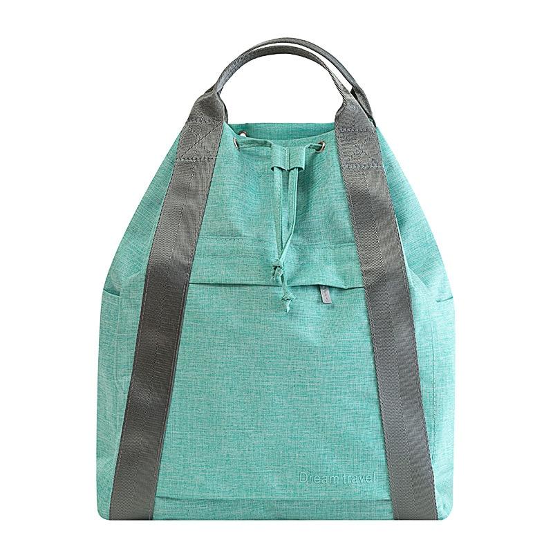 Creative Large Travel Bag Women Portable Big Duffel Bag Back Pack Weekend Bags Travel Organizer Waterproof Overnight Bags Totes