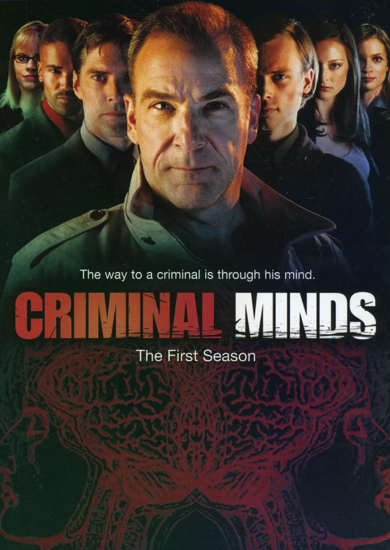 Collection Criminal Minds Season 1 TV Series Retro Vintage
