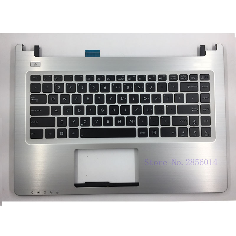NEW US For <font><b>Asus</b></font> K46 K46 K46CA K46CB <font><b>K46CM</b></font> S46C S46CB S46CM S46CA Laptop <font><b>keyboard</b></font> Version with Palmrest Upper image