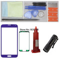 For Samsung Galaxy S5 Front Glass Lens Loca UV LCD Glue and UV Light Screen Replacement Repair Kit