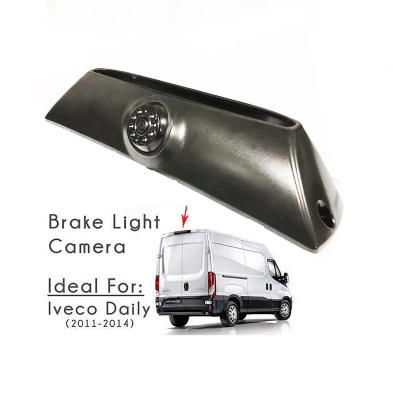 CCD HD car Brake Light Rear view camera For IVECO Daily 2011-2014 brake light camera cargo VAN Camera Parking Reverse Camera ccd hd car camera for skoda toyota benz hyundai isuzu iveco mitsubishi nissan opel peugeot renault seat back rear view parking