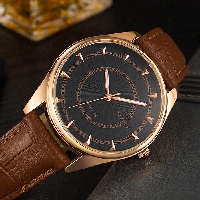 Yazole Mens Watches Top Brand Luxury Quartz Watch Men Wristwatches Male Clock Wrist Watch Quartz-watch Relogio Masculino YZL394