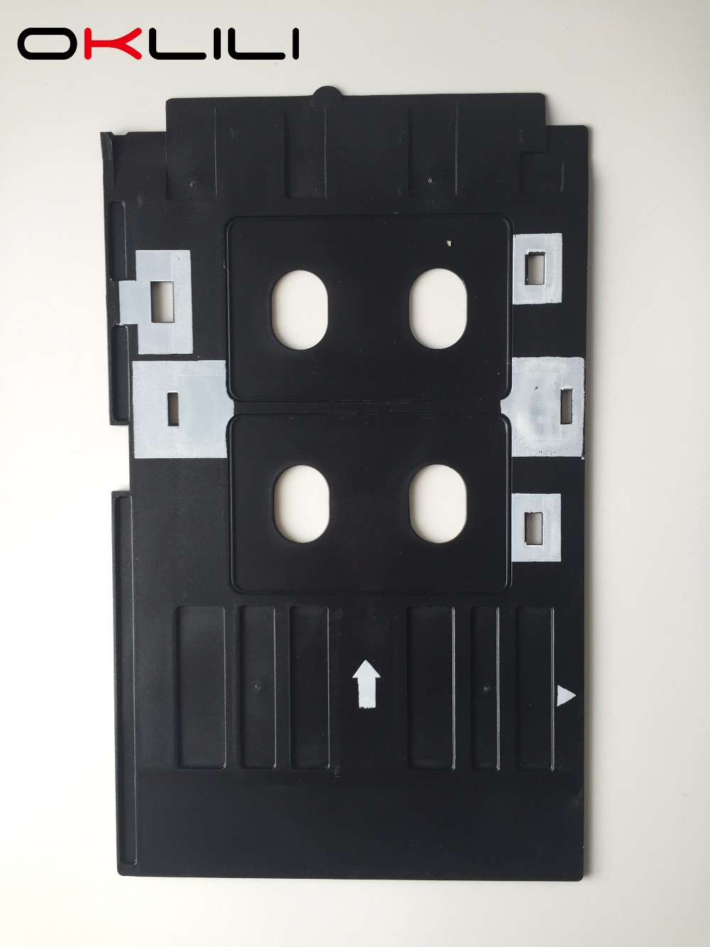 PVC ID-kortbakke Plastkort Udskriftsbakke til Epson R260 R265 R270 R280 R290 R380 R390 RX680 T50 T60 A50 P50 L800 L801 R330