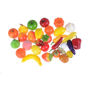 Image 3 - 10pcs/lot Hot Sale Plastic Kitchen Food Fruit Vegetable Cutting Kids Pretend Play Educational Toy Safety Children Kitchen Toys