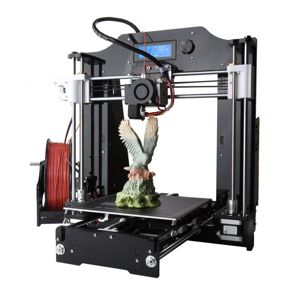 LCD Screen Display 3D Printer Machine Large Printing Size DIY 3D Printer Kit Professional High