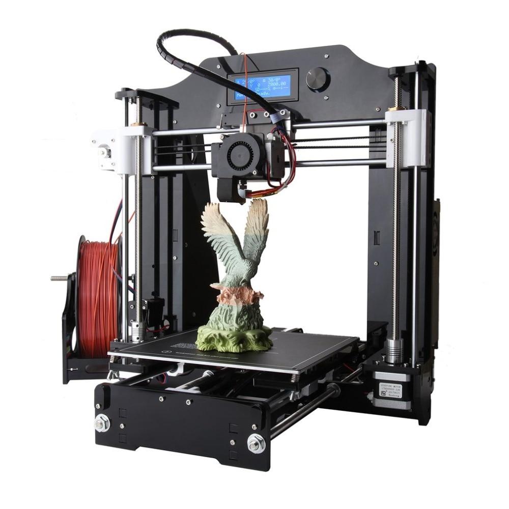 LCD Screen Display 3D Printer Machine Large Printing Size DIY 3D Printer Kit Professional High Precision Printing US/EU  Plug|3D Printers| |  - title=