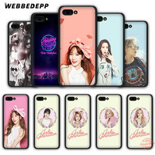 WEBBEDEPP Snsd Girls 'Generation Taeyeon Soft Case voor Honor 20 10 9 9X8 Lite 8C 8X 7X 7C 7A 3GB 6A Pro View 20(China)