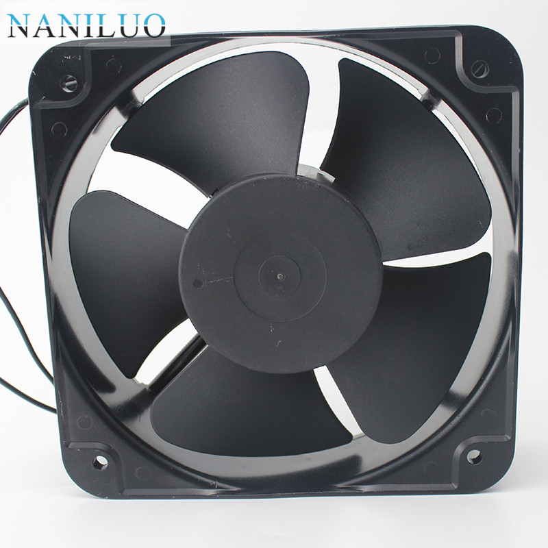 2018 GH20060HA2BL AC 220V 240V 0 45A 50/60HZ 22060 22CM 220*220*60mm 2  Wires Cooling Fan From Becke, &Price
