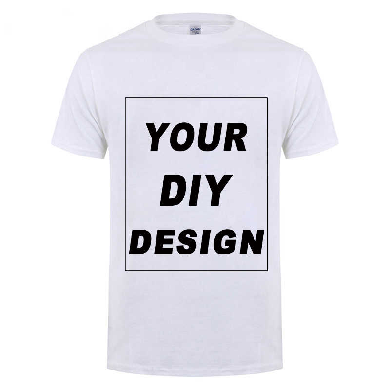 8fc633451 cool Customized Men's T Shirt Print Your Own Design High Quality Cotton T- Shirt For