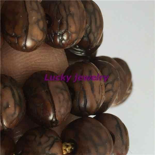 Тибетский буддизм 108 старый феникс глаза семена Бодхи Мала ожерелье