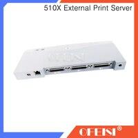 90% Nieuwe Originele J7983G JetDirect Card Externe Print Server-Geen AC Adapter Voor HP510X HP 510X Serie netwerkkaart printer onderdelen