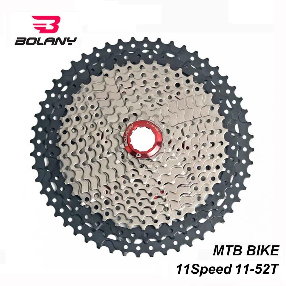 BOLANY 10 Speed Freewheel Cassette 11-32T MTB Road Bike Flywheel Silver Sprocket
