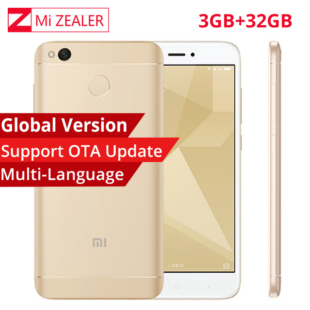 Global Version Xiaomi Redmi 4X Smartphone 3GB RAM 32GB Snapdragon...