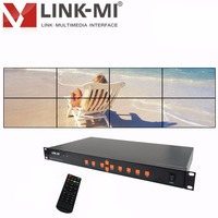 Videowand controller HDMI Prozessor 2x2 2x3 2x4 stitching 8 bildprozessor bildschirm spleißen HDMI VGA AV USB Prozessor Konverter-in Projektor-Zubehör aus Verbraucherelektronik bei