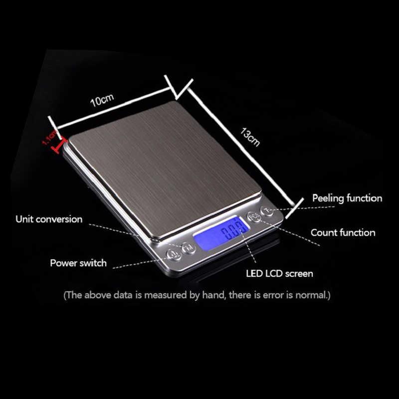 Новые цифровые карманные весы g/oz/ct/gn точные весы ювелирные изделия Масса Электронные весы 2000 г x 0,1 г HT152