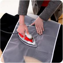 90x40cm High Temperature Ironing Cloth Ironing Pad Cover Household Protective Insulation Against Pressing Pad Boards Mesh Cloth(China)