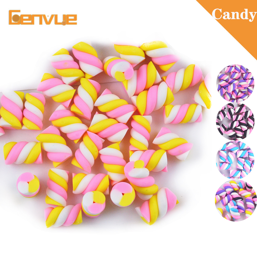 Cotton Candy Bead Addition For Lizun Fluffy Foam Slime Supplies Accessories Charms Gift For Clay DIY Kit Plasticine Toys For Kid