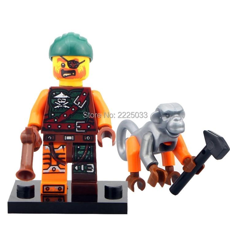 Bucko Ninjagoes anime minifigures building font b blocks b font bricks toys for children gift brinquedos