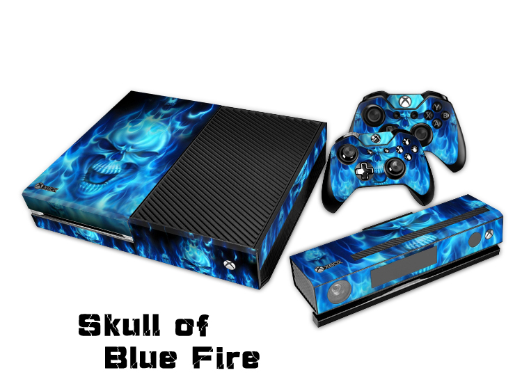 Protective Skin decal Design For Microsoft XBOX One Console Skin Sticker for X Box ONE Controller Shell Free shipping