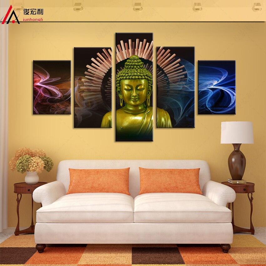 5 piece canvas art Modular pictures nordic decoration Modular Room ...