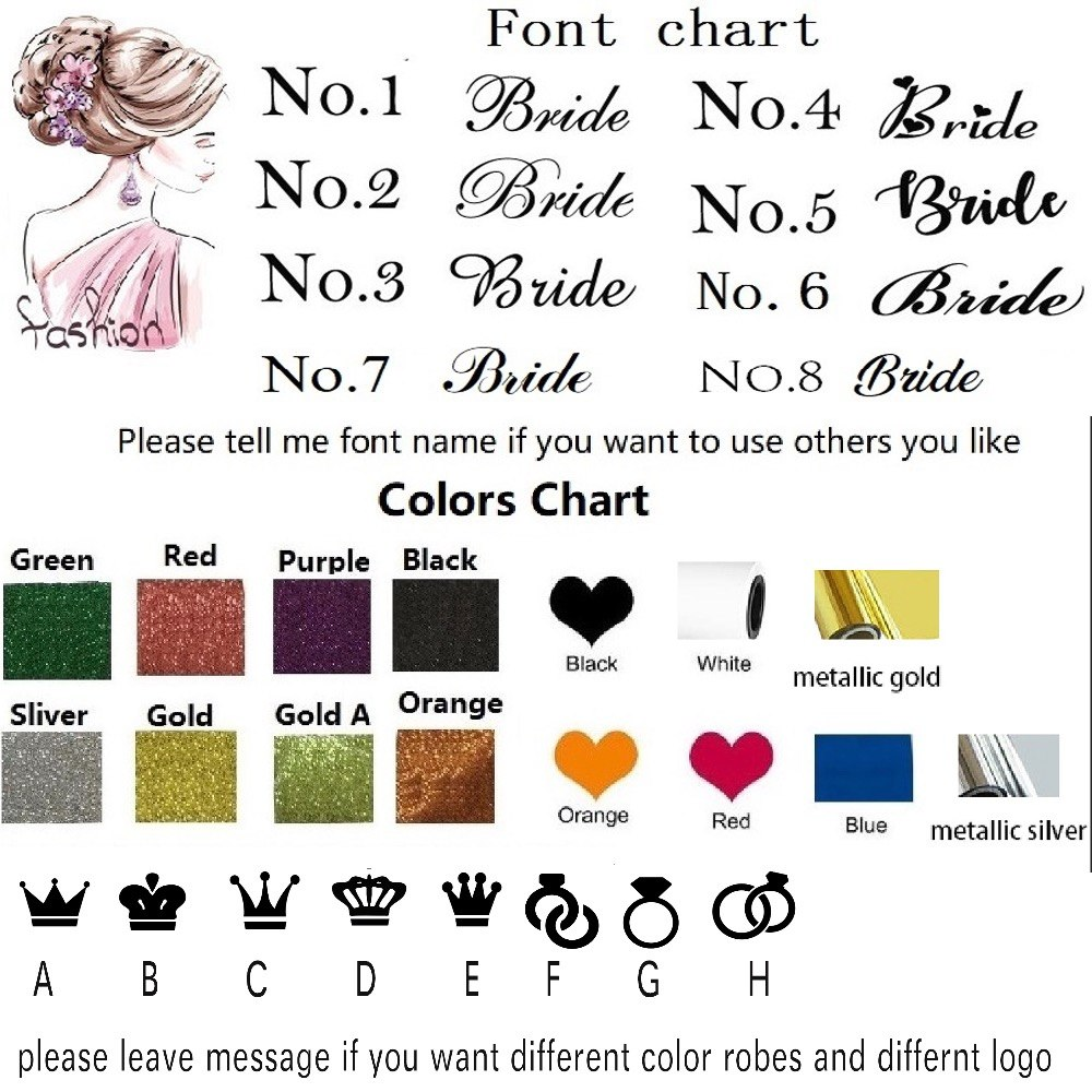 Custom Glitter T-Shirt Names Iron-On Transfers Birthday Hen Party Rose Gold DIY