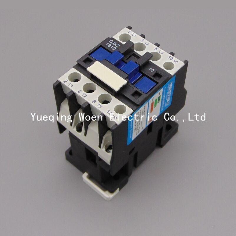 Contactor CJX2 1810 18A font b switches b font LC1 AC contactor voltage 380V 220V 110V