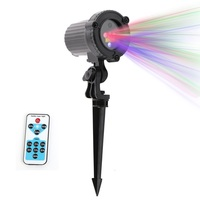 Outdoor RGB Waterproof Laser Christmas Star Projector Light Wireless Remote Control For Christmas Holiday Garden Decoration