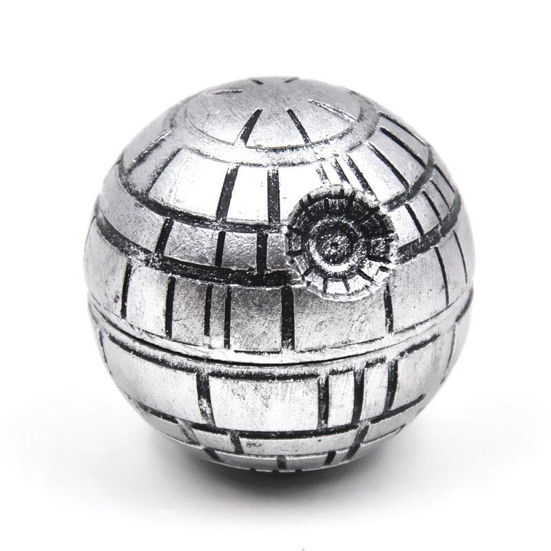 1 X Zinc Alloy Resin Star Wars Death Star Herb Spice grinders