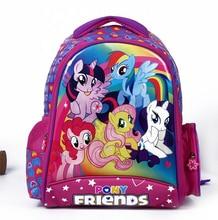 2016 neue kinder cartoon my little pony schultasche mädchen schöne Rucksack Schultasche Für Kinder Kinder Weihnachtsgeschenk Taschen