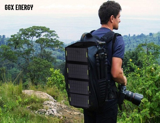 Portable Solar Charger for Camping 14W Mono Fodable Solar Panel Double USB Output Waterproof Solar Rechargeable