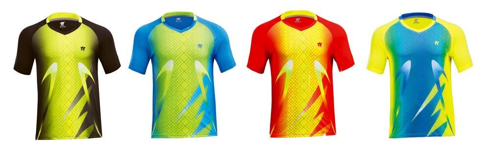 Personalidade impressão de vestuário badminton roupas De Tênis T-shirt calções