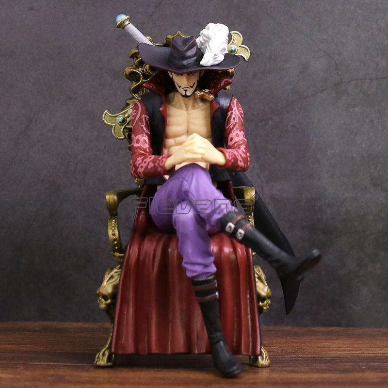 Anime One Piece CREATOR X CREATOR Dracule Mihawk PVC Figure Collectible Model Toy free shipping anime one piece dracule mihawk pvc action figure collection toy 6 15cm