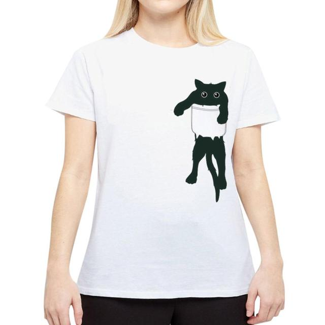 brixini.com - The Naughty Kitty Tee