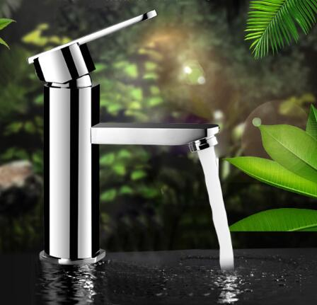 high quality bathroom faucet brass water tap chrome hot and cold ...