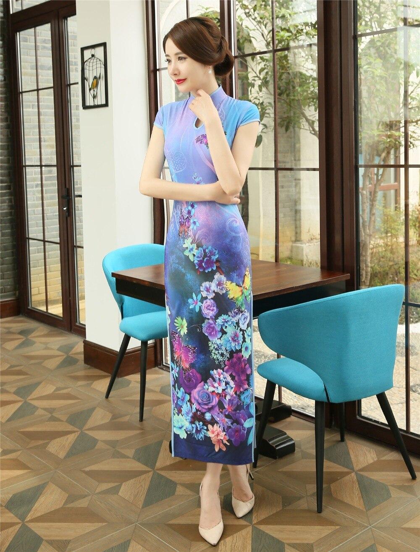 6d49d0f11c Shanghai Story Nowy Butterfly Qipao tendencja krajowa chiński styl ...