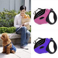 High Quality 5M Automatic Retractable Traction Rope Nylon Dog Lead Leash For Small Medium Large Dogs