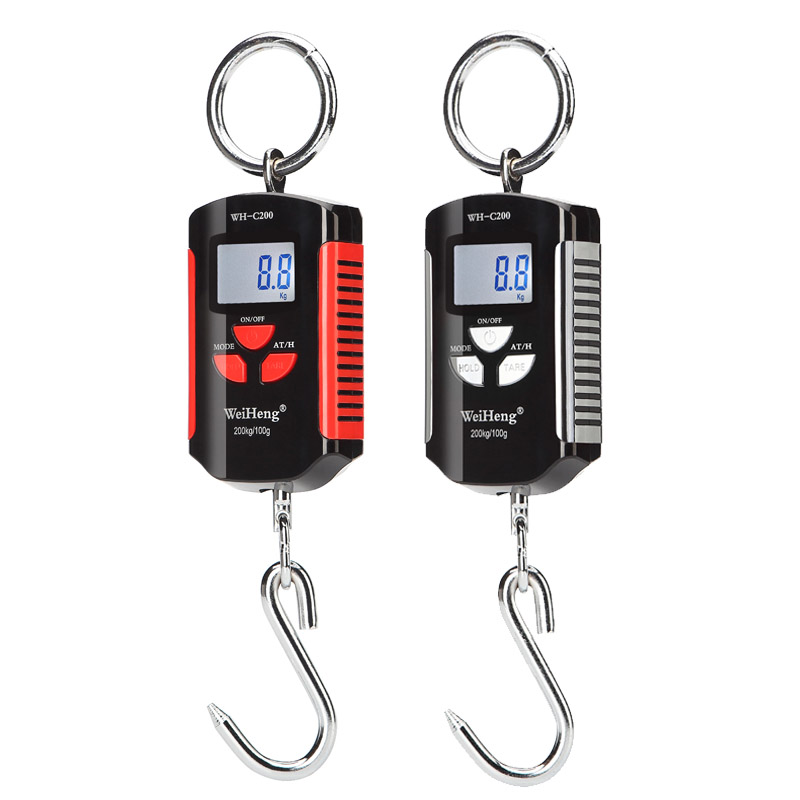 Mini Portable Hanging Crane Scale Digital Heavy Duty scale 200kg/100g Industrial Hook Scale Electronic Weighing BalanceMini Portable Hanging Crane Scale Digital Heavy Duty scale 200kg/100g Industrial Hook Scale Electronic Weighing Balance