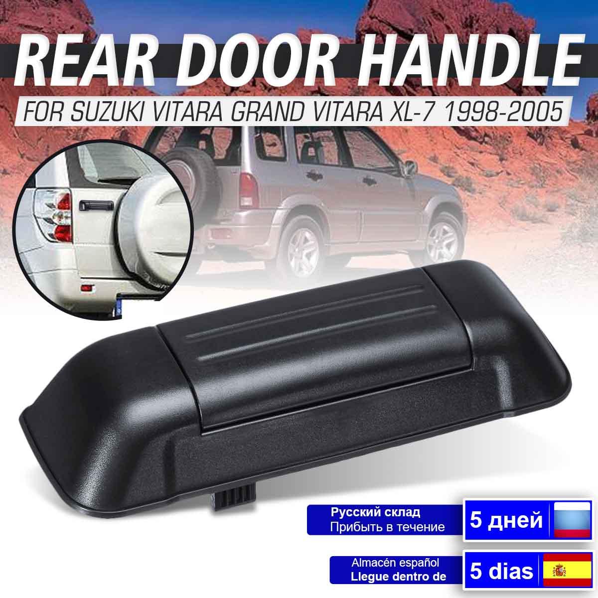 Автомобильные экстерьер откидная задняя дверь багажника Ручка для Сузуки витара Гранд витара XL-7 1998 1999 2000 2001 2002 2003 2004 2005